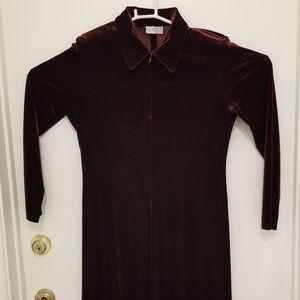 K.C. Spencer New York Velvet Dress size 8P